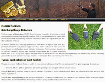Bionic Series, Long Range Gold Detectors