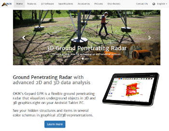 Gepard GPR - 3D Ground Penetrating Radar