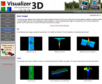 Visualizer 3D, 3d software for OKM metal detectors